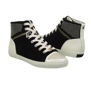 Michael Kors BOREUM Studded High Top Sneakers 6